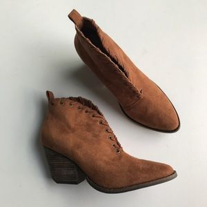 Coconuts by Matisse Alabama Suede Ankle Booties